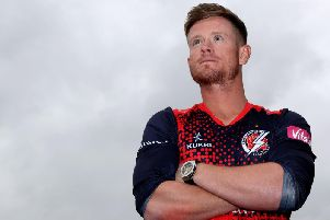 Lancashire's Alex Davies played his first games after injury in Blackpool