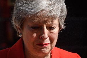 Theresa's May is emotional as she announces she will step down as Prime Minister