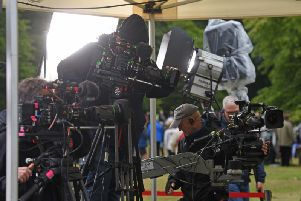 Filming of the hit BBC show began today at Lytham Hall