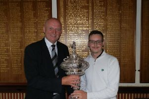 Green Drive Trophy winner Sam Clayton