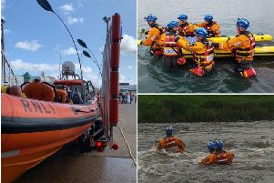 Three Coastguard volunteer rescue teams, as well as three RNLI lifeboat stations, also manned by volunteers, work tirelessly to keep us safe
