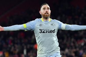 Richard Keogh has been at Derby since 2012.