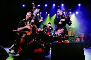 Bagpipe supremos The Red Hot Chilli Pipers will rock Chesterfield