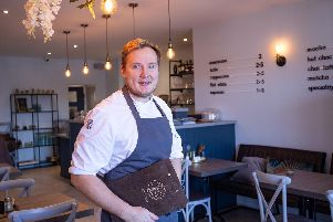 Ryan Purrington, head chef and manager at The Lilypad caf and restaurant