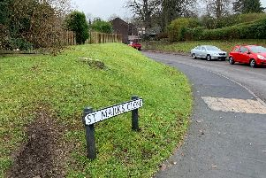 St Marks Close in Cromford where a teenage boy was stabbed.