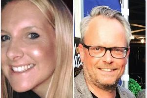 Helen Hancock (nee Almey), 39, and Martin Griffiths, 48