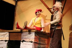 The Adventures of Pinocchio performed by Oddsocks Theatre Company.