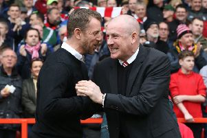 Derby manager Gary Rowett and Forest manager Mark Warburton