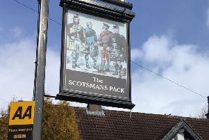 The Scotsman's Pack, Hathersage