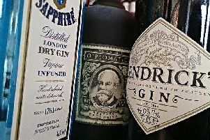 The event will feature over 100 types of gin.