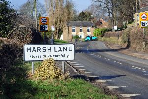 One of the sites in Derbyshire is Marsh Lane, Eckington.