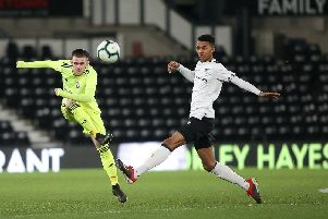 Match action from Derby County's FA Youth Cup win over Sheffield United. The Rams led 2-0 after an impressive first half display, before wrapping it up with another good second half performance.