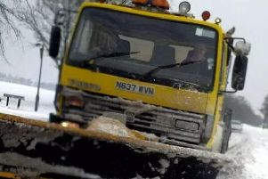 Gritters have been busy on Derbyshire roads