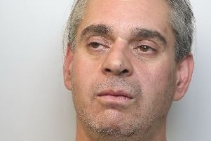 Pictured is Mark Pierce, of Wellington Street, Ripley, who has been jailed for 12 weeks after he admitted producing cannabis plants.