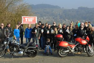 Derbyshire motorcycle club the League of Zeal  raised more than �17,500 for the Teenage Cancer  Trust in 2018, bringing their total �64,000 over the past four years.