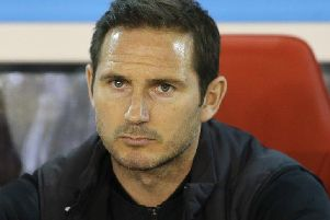 Frank Lampard is dealing with the toughest spell of his managerial career so far.