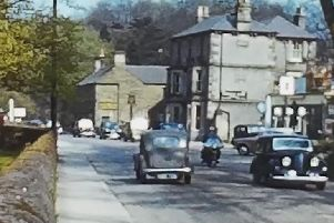 How times have changed on Derbyshire's roads