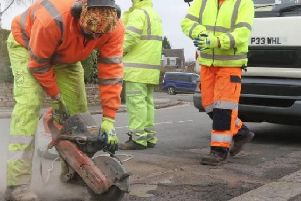 Derbyshire County Council fixed more than 66,000 potholes last year.