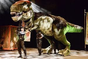 Dinosaur World Live thunders onto Chesterfield stage