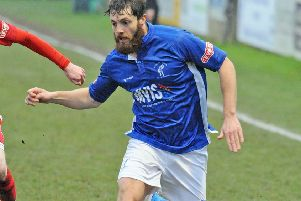 Craig King in action for Matlock