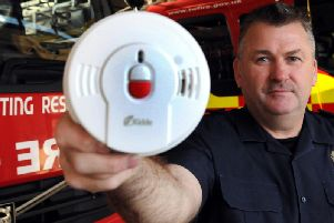 Firefighters are in Matlock Bath this week to offer home safety checks.