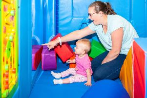 The new soft play area and other refurbished facilities at the Arc Leisure Centre in Matlock are proving a big hit with families just two weeks after launch.