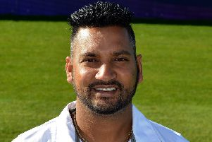 Derbyshire County Cricket Club, pictured is Ravi Rampaul