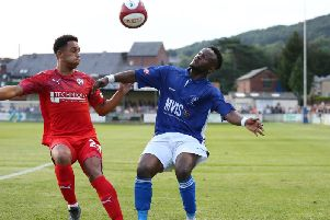 Chesterfield came from behind to beat Matlock Town.