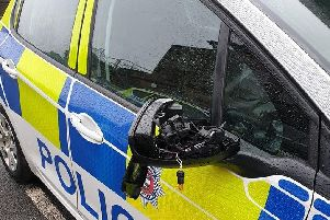 Picture posted on the Glossopdale Police Safer Neighbourhood Team Facebook page.