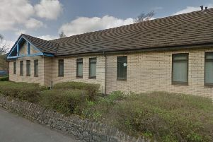 The former Darley Dale Medical Centre on the corner of Columbell Way and Chesterfield Road.