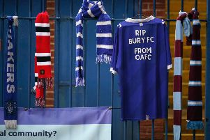 A foreign consortium says it has the money to take over Bury if the EFL reinstate them.
