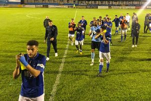 Matlock Town fought back late on to rescue an unlikely point.