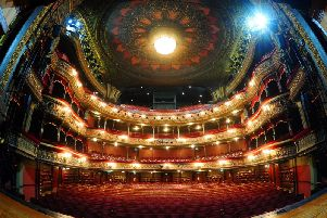 All events at Leeds Grand Theatre are cancelled for the time being. Picture: Simon Hulme.