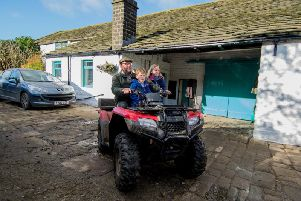 Farmer, Paul Thorp who has worked at the farm since 1992 and lived at the farm with his wife Jill and son John since 2008.
