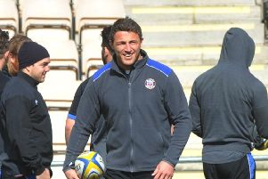 Sam Burgess is one of three local lads vying for the Rugby League World Cup this weekend.