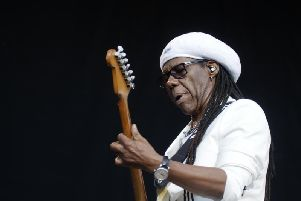 Nile Rodgers delivered a hit packed set. (Photo: Cuffe and Taylor).