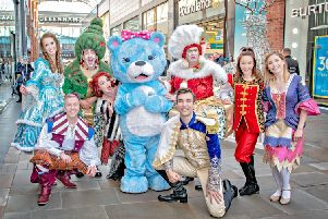 Theatre Royal Wakefield's Cinderella cast are ready to go to the ball!