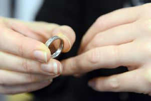 Generic photo of a bride showing off her ring. See PA Feature WEDDING Engagement.  PA Photo/iStockphoto.com  WARNING: This picture must only be used to accompany PA Feature WEDDING Engagement ring'Just brides