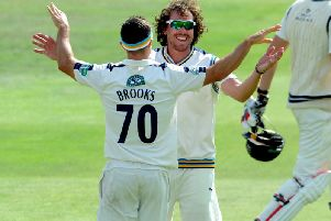 Ryan Sidebottom and Jack Brooks return from injury for Yorkshire