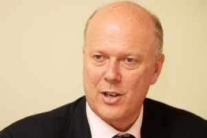 Transport secretary Chris Grayling.