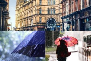 This is when it will stop raining in Leeds