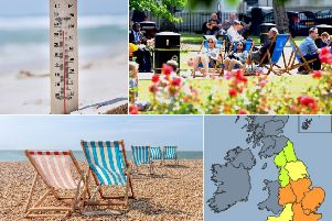 The Met Office have recently issued a level 3, or amber, heatwave warning in certain parts of England as temperatures this week are set to scorch