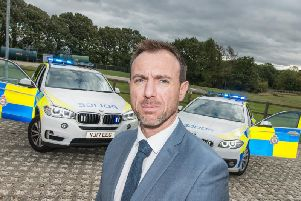 Detective Chief Inspector Carl Galvin,director of intelligence for West Yorkshire Police.