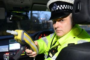 West Yorkshire Police is beginning a crackdown on drink and drug drivers in the run-up to Christmas. Picture: Scott Merrylees