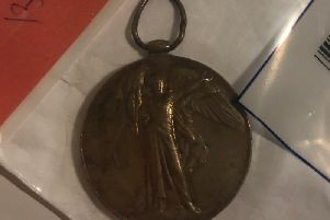 Police in Leeds are trying to find the rightful owner of this war medal.