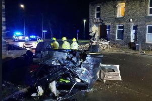The scene on Wakefield Road. PIC: West Yorkshire RPU