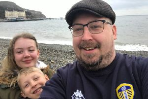 Leeds dad urges parents to put their phones down and spend time with their children