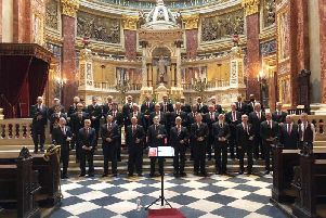 Leeds Male Voice Choir entertains audiences in Budapest