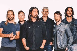 Foo Fighters: First day headliners at the Leeds Festival.