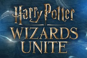 The Harry Potter: Wizards Unite game.